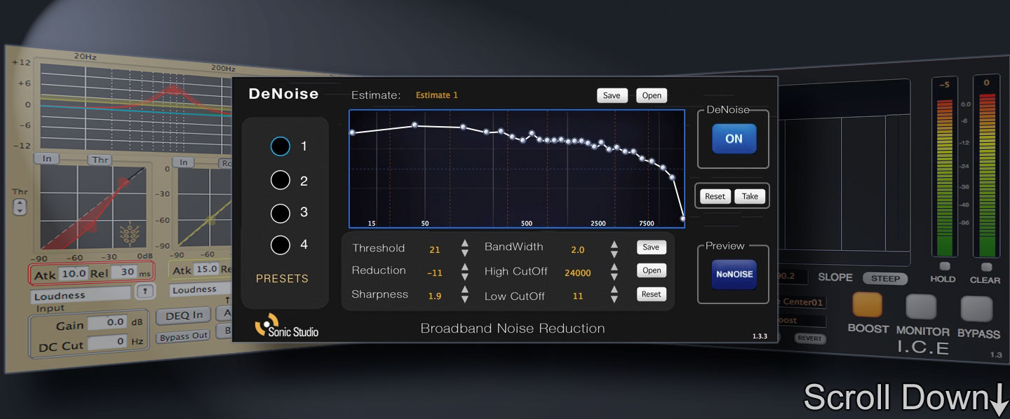 Sonic Studio Pro <strong>NoNoise 3</strong>